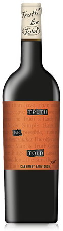 2018<br>Truth Be Told<br>Cabernet Sauvignon